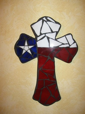 "15"" Texas Cross"