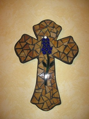 "15"" Bluebonnet Cross"